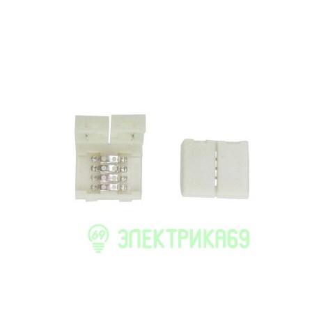 Ecola Коннектор зажим 4-конт SMD5050 RGB SC41SCESB