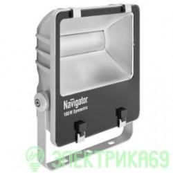 Navigator прожектор св/д 100W(7200lm) 5000 IP65 296x258x95 сер. NFL-SM-100-5K-GR-IP65-LED 94749