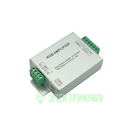Ecola Усилитель для RGB ленты 18A 216W 12V AMP216ESB
