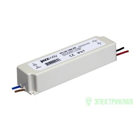Блок питания для св/дных лент 12V/8.3А 100W, IP67 (герметич.) пластик PPS-CVP12100 Jazzway .1004703