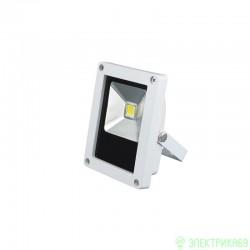Volpe прожектор св/д 10W(600lm) 6500K 110-265V пластик/белый IP65 ULF-Q508 10W/DW WHITE