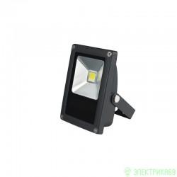 Volpe прожектор св/д 10W(600lm) 6500K 110-265V пластик/черный IP65 ULF-Q508 10W/DW  BLACK