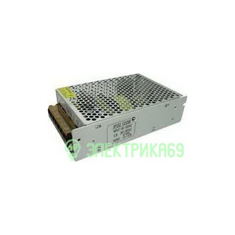 Ecola Блок питания для св/д лент 120W 220V-12V IP20 159х98х42 B2L120ESB
