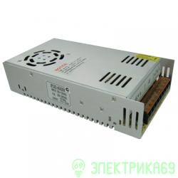Ecola Блок питания для св/д лент 24V 400W IP20 201х99х50 вентилятор (интерьерный) D2L400ESB