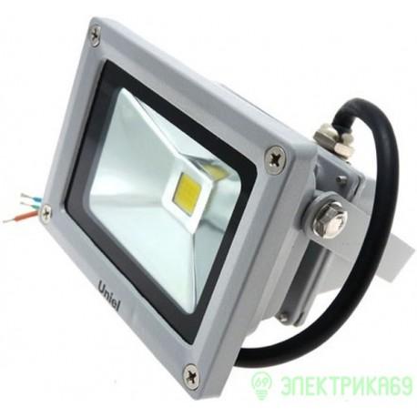 Uniel прожектор св/д RGB с пультом 20W(60-220lm) ULF-S01-20W/RGB/RC IP65