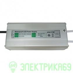 Ecola Блок питания для св/д лент 60W 220V-12V IP67 179х71х43 B7L060ESB