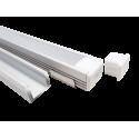 Smartbuy св/д профиль накл.+рассеив. 16x12мм алюм/поликарб.(цена за 2м)  SBL-Al16x12 PAL1612