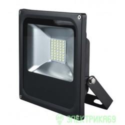 Volpe прожектор св/д 30W(2100lm) 6500K 175-265V пластик/черный IP65 ULF-Q507 30W/DW BLACK