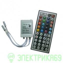 Ecola Контроллер 72W 12V 6A RGB c большим ИК пультом CRL072ESB