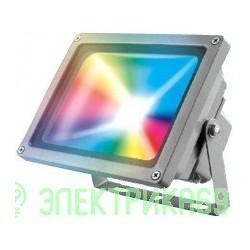 Uniel прожектор св/д RGB с пультом 30W(110-530lm) ULF-S01-30W/RGB/RC IP65