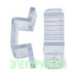 Ecola Скоба крепежная 220V 14x7 IP68 (10 шт в уп, цена за уп) SCHL14ESB