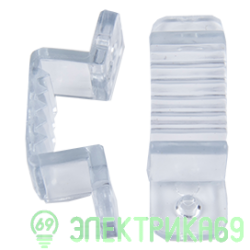 Ecola Скоба крепежная 220V 16x8 IP68 (10 шт в уп, цена за уп) SCHL16ESB