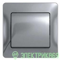 Schneider GLOSSA мех. выкл. СУ 1 кл. алюминий (пласт. осн.) GSL000311