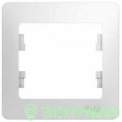 Schneider GLOSSA рамка СУ 1 мест. бел. GSL000101