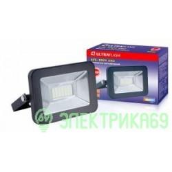 Ultraflash прожектор св/д LFL-1001 C02 10W(630lm) SMD 6500K 6K 150x110x30 230V IP65