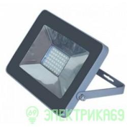 Ecola прожектор св/д 20W 2800 2K 146x102x17 серебристо-серый IP65 JPSW20ELB