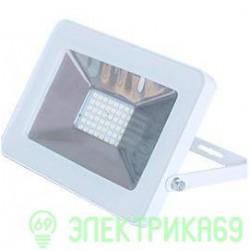 Ecola прожектор св/д 20W 4200 4K 146x102x17 белый IP65 JPWV20ELB