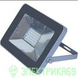 Ecola прожектор св/д 20W 4200 4K 146x102x17 серебристо-серый IP65 JPSV20ELB