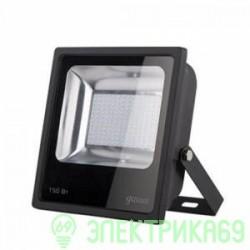 Gauss прожектор светодиодный 150W(11150lm) IP65 6500К черный 613100150