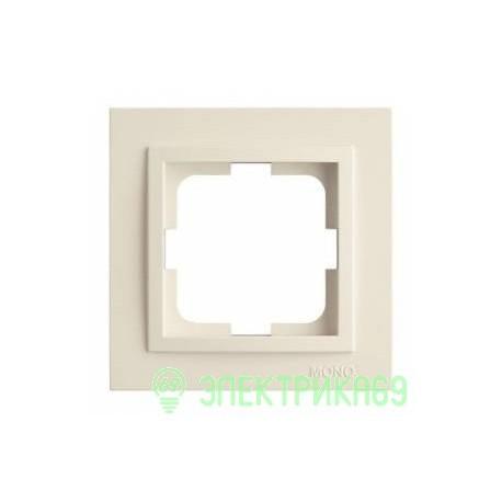 Mono DESPINA рамка СУ 1 мест. Бел 102-190000-160