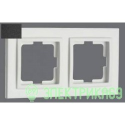 Mono DESPINA рамка СУ 2 мест. Графит 102-200000-161