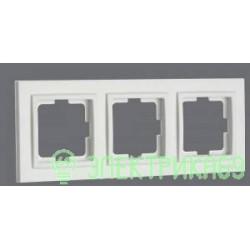 Mono DESPINA рамка СУ 3 мест. Бел 102-190000-162