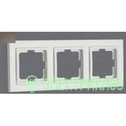 Mono DESPINA рамка СУ 3 мест. Бронза 102-230000-162