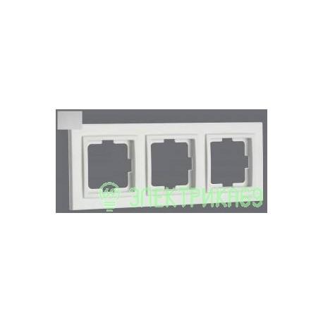 Mono DESPINA рамка СУ 3 мест. Серебро 102-210000-162