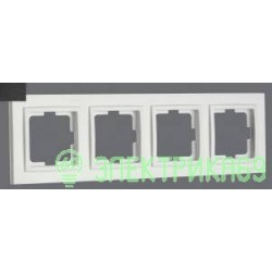 Mono DESPINA рамка СУ 4 мест. Графит 102-200000-163