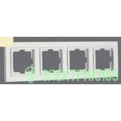 Mono DESPINA рамка СУ 4 мест. Крем 102-170000-163