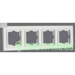 Mono DESPINA рамка СУ 4 мест. Серебро 102-210000-163