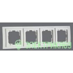 Mono LARISSA рамка СУ 4 мест. Бел 103-191900-163
