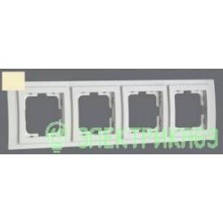 Mono LARISSA рамка СУ 4 мест. Крем 103-171700-163