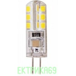 Ecola G4 220V 3W 6400K 6K 320° 38x11 G4RD30ELC