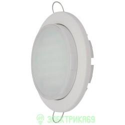 Ecola GX53-DGX5315 св-к встр. легкий Белый 18x100 FW53EFECD