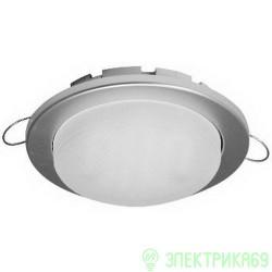 Ecola GX53-DGX5315 св-к встр. легкий Серебро 18x100 FS53EFECD