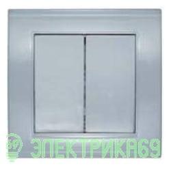 UNIVersal Бриллиант выкл. СУ 2 кл. серебро (пласт. осн.) 7949650