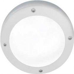 Ecola B4139S св-к матов.Круг белый алюм.1*GX53 IP65 145х145х65 FW53SSECS