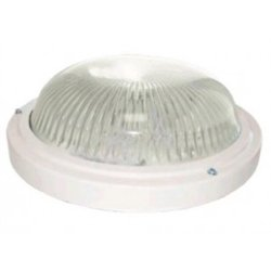 Ecola ДПП 03-18-003 св-к Круг прозр. белый 3*GX53 IP65 280х280х90 Light TR53T3ECR