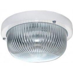 Ecola ДПП 03-7-001 св-к Круг прозр. белый 1*GX53 IP65 185х185х85 Light TR53T1ECR
