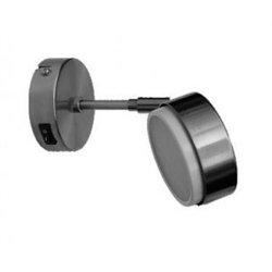 Ecola GX53-FT4173 св-к поворотный на среднем кроншт. Черненая бронза 210х80 FN5341ECB