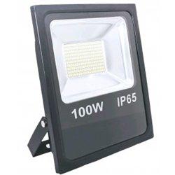 КОСМОС прожектор св/д 100W(8000lm) SMD 6500K 6K 320x220x45 160-260V IP65 K_PR5_LED_100