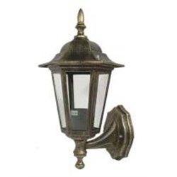 Camelion 4101 св-к уличный/садовый 'бра вверх' бронза 60W E27 220V алюминий/стекло IP43