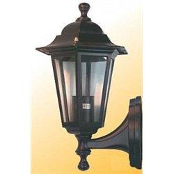 Camelion 4101 св-к уличный/садовый 'бра вверх' медь 60W E27 220V алюминий/стекло IP43