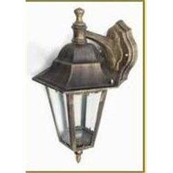 Camelion 4102 св-к уличный/садовый 'бра вниз' бронза 60W E27 220V алюминий/стекло IP43