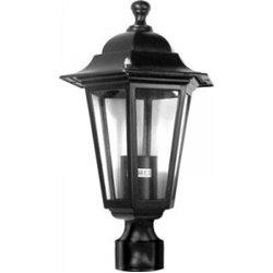 Camelion 4103 св-к уличный/садовый 'посадочный' черный d45mm 60W E27 220V алюминий/стекло IP43