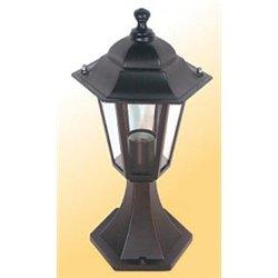 Camelion 4104 св-к уличный/садовый 'на основании' бронза 60W E27 220V алюминий/стекло IP43