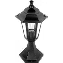 Camelion 4104 св-к уличный/садовый 'на основании' черный 60W E27 220V алюминий/стекло IP43