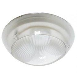 Ecola ДПП 03-18 Сириус св-к Круг прозр. белый 3*GX53 IP65 280х280х90 Light TS53T3ECR