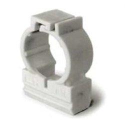 T-plast (LUXEL) крепеж-клипса с защелкой (хомут) 20 мм (уп 50 шт цена за 1 ШТУКУ!) LX29120